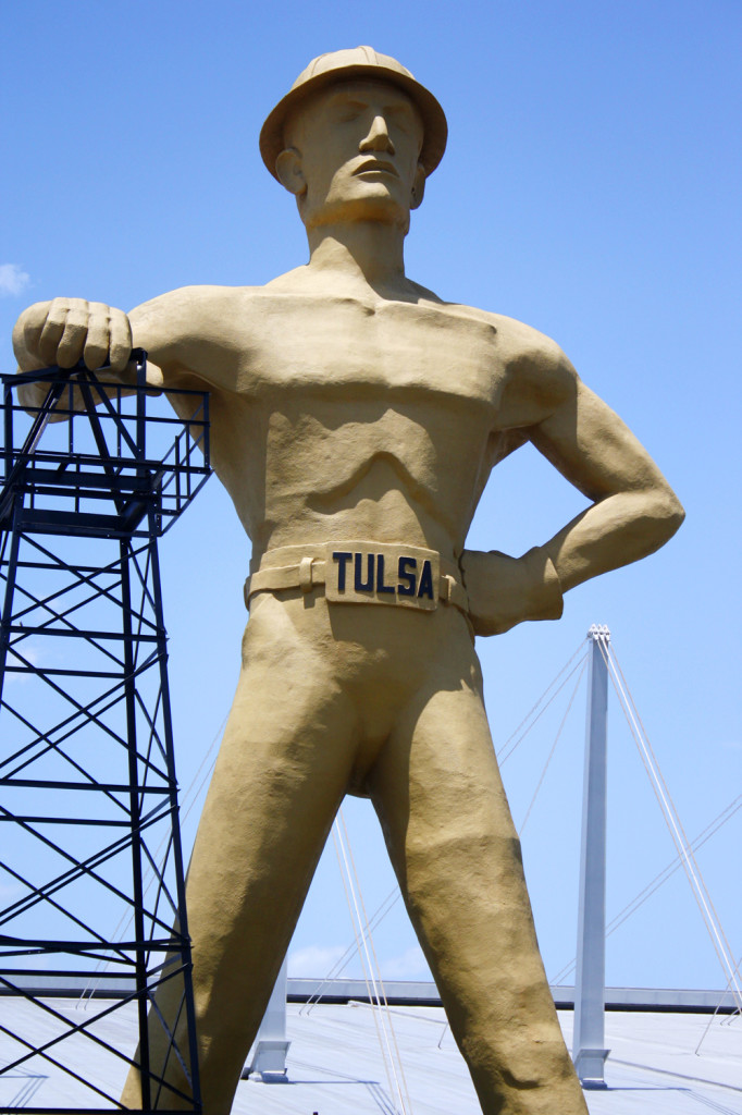 Tulsa Man Oil Driller Man