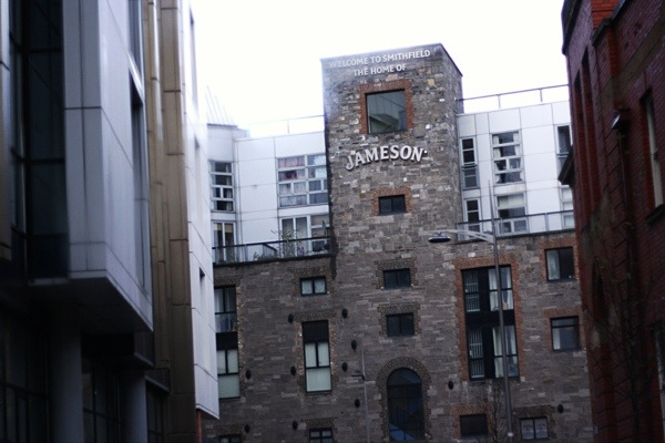 Old Jameson Distillery Dublin Building front