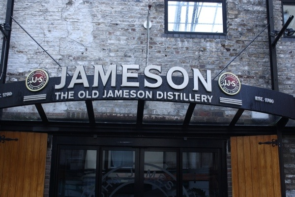 Dublin Jameson Distillery