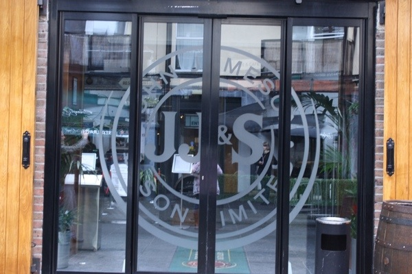 Jameson Distillery Doors