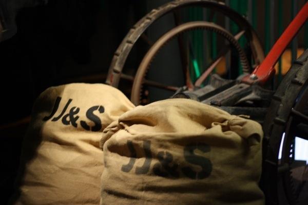 Old Jameson Distillery Dublin Barley Bags