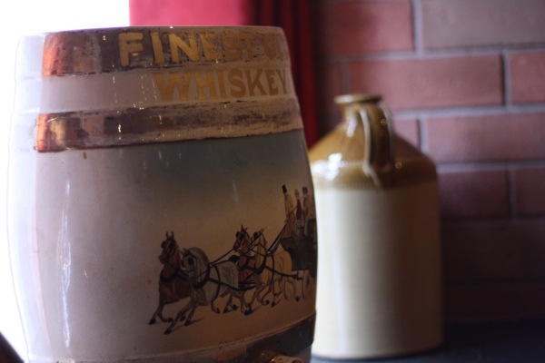 Antique Jameson Whiskey Jugs