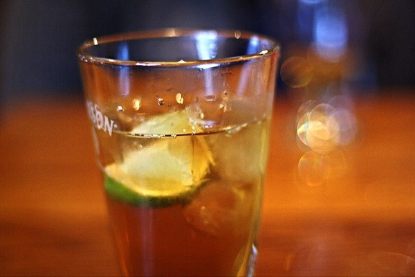 Jameson whiskey ginger ale drink