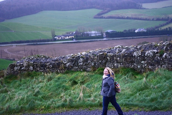 The Rock of Dunamase Castle