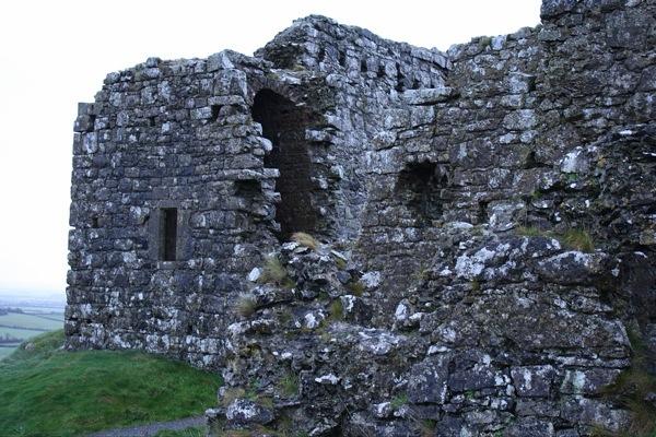 Side of the Rock of Dunamase