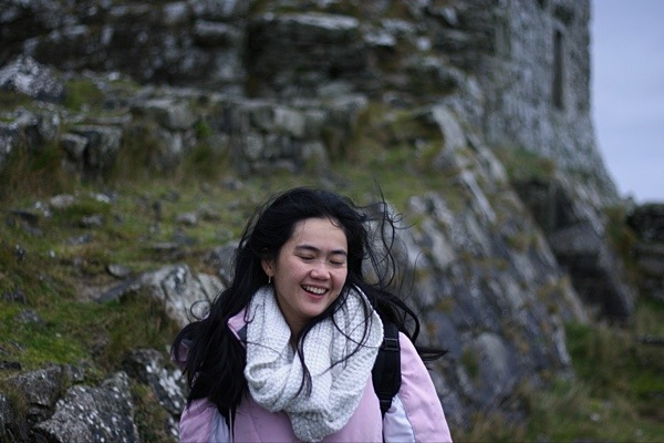 me at the Rock of Dunamase castle