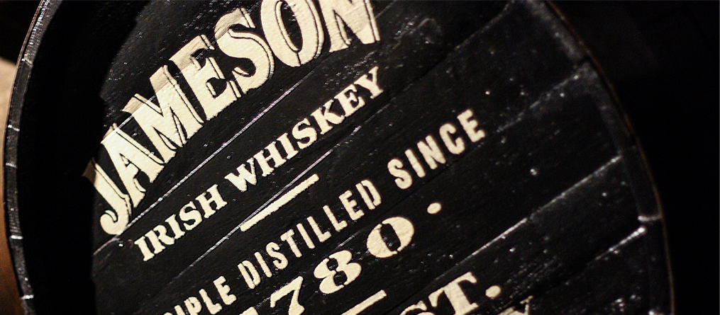 Old Jameson Distillery, Irish Whiskey Barrel