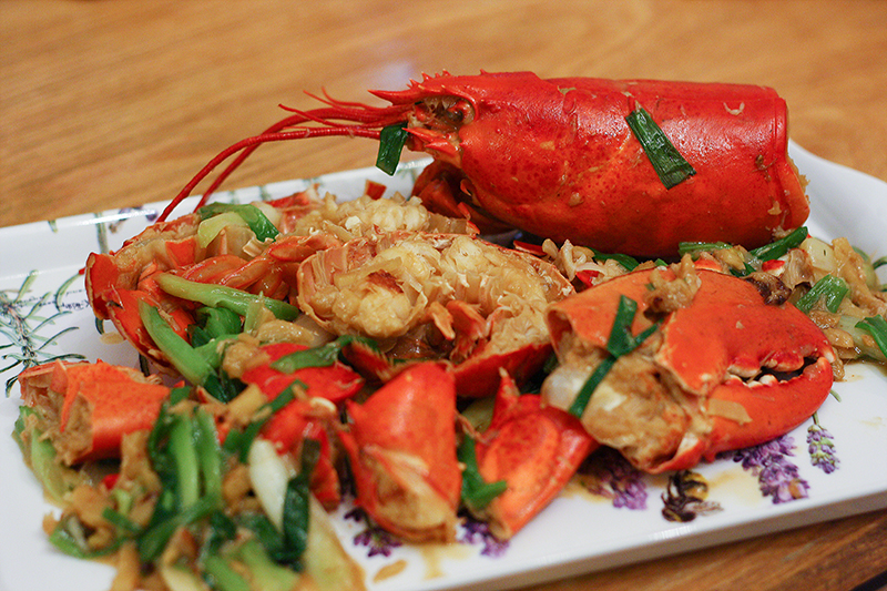 Cantonese Style Lobster