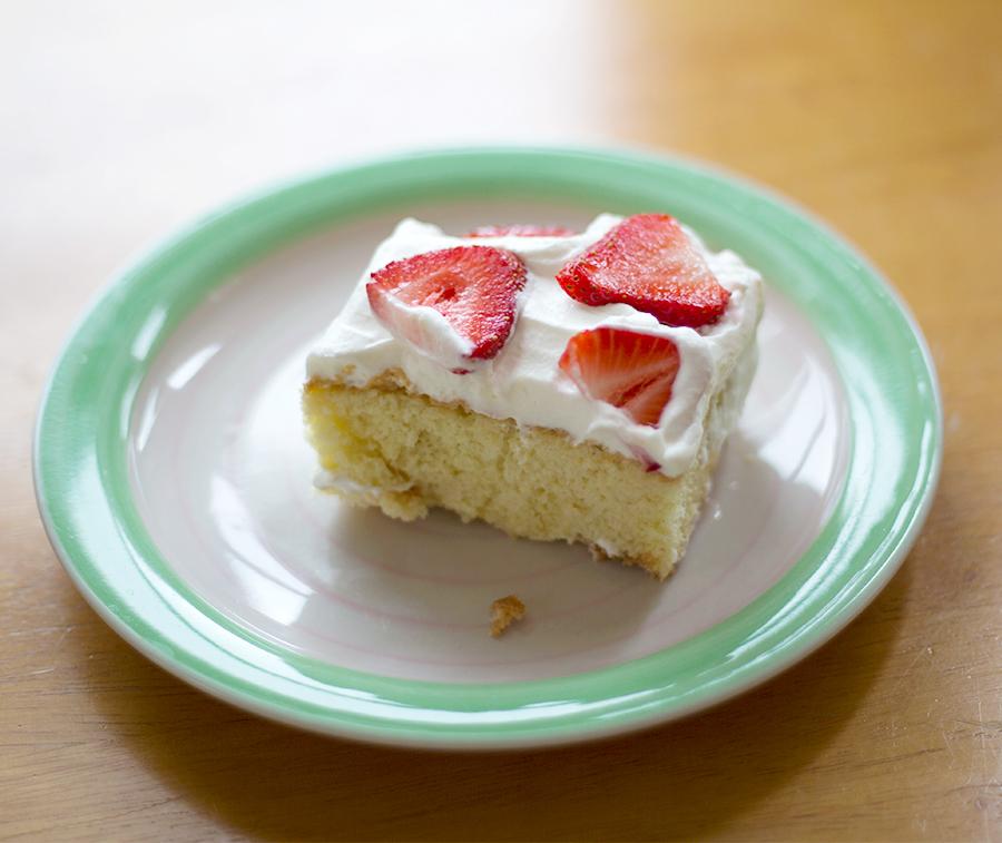 A Piece of Tres Leche Cake