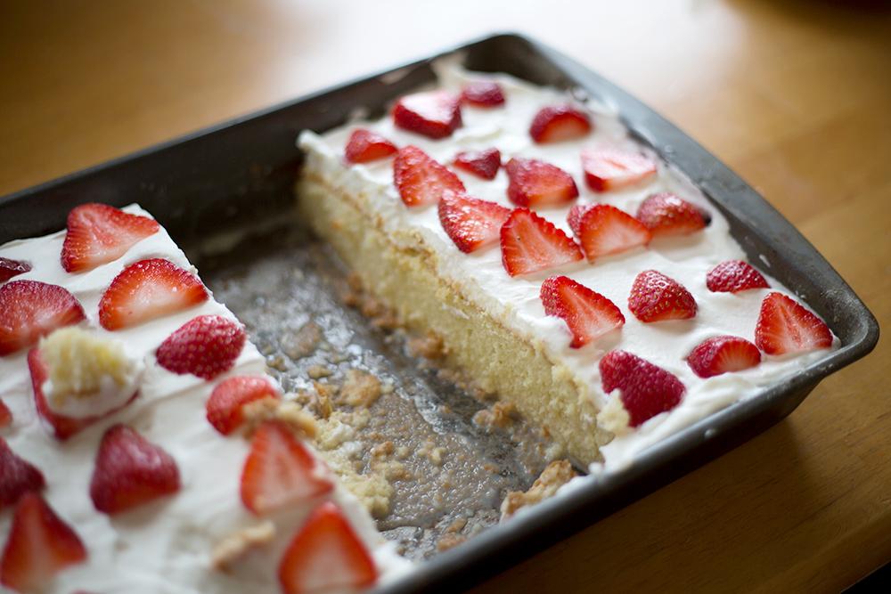 Recipe for Tres Leche Cake