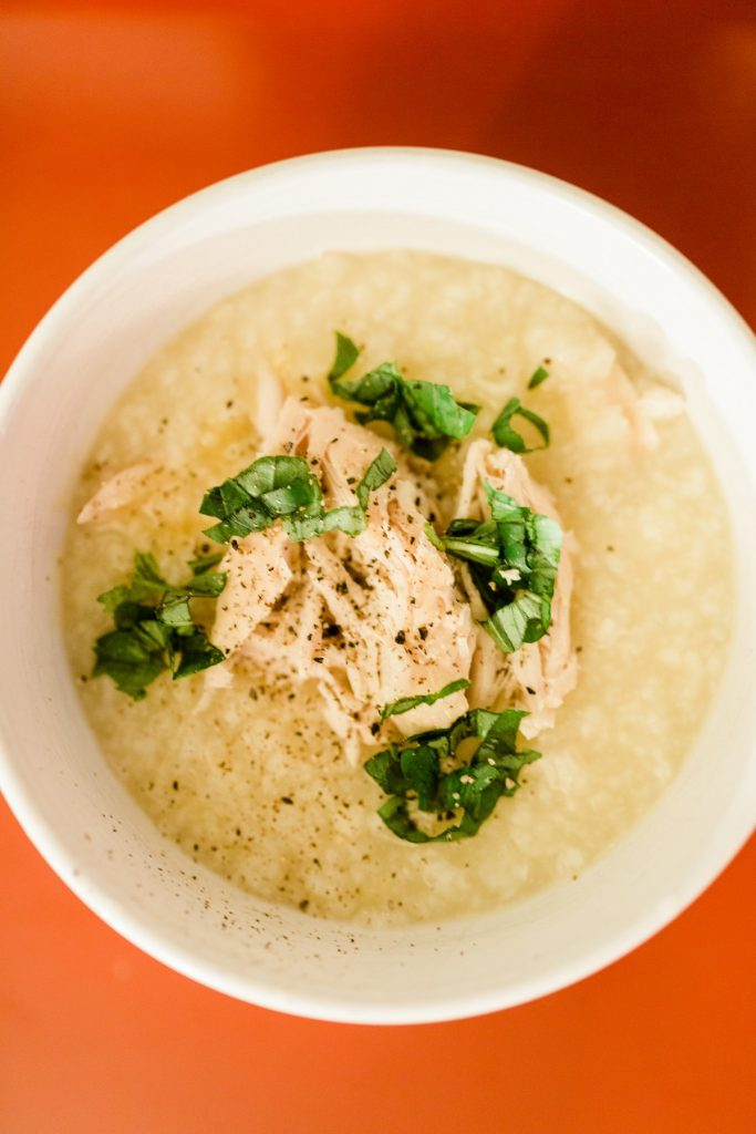 Instant Pot Chao Ga Recipe Vietnamese Rice Porridge