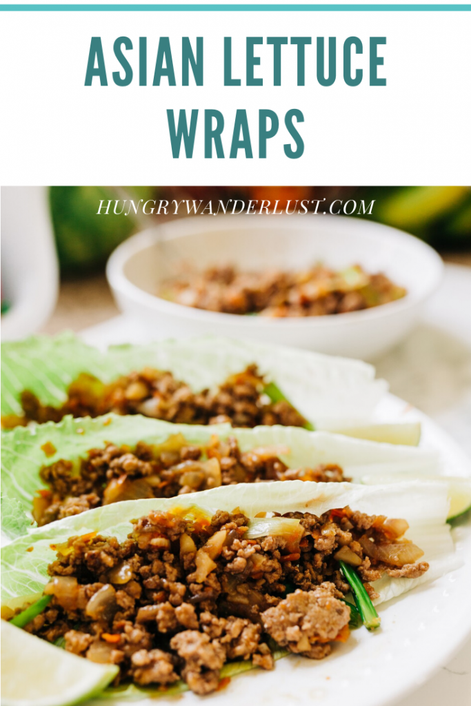 Asian Chicken Lettuce Wrap Recipe