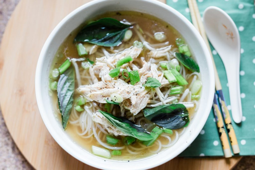 Instant Pot Pho Ga Recipe, Chicken Pho Recipe using the Instant Pot with Whole Chicken