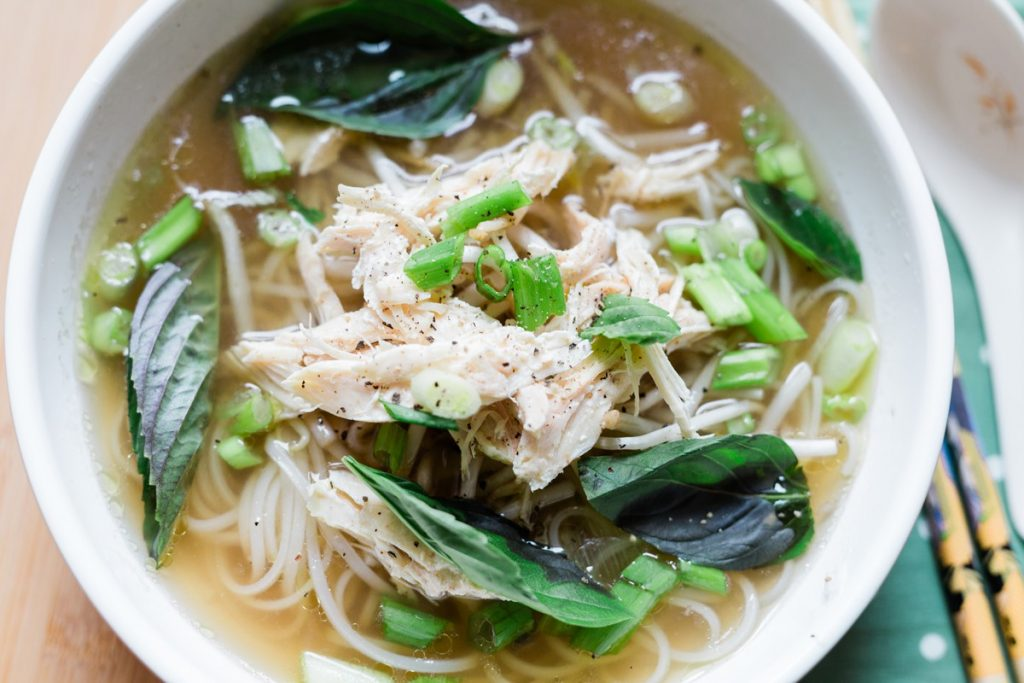 Instant Pot Chicken Pho Recipe using Whole Chicken