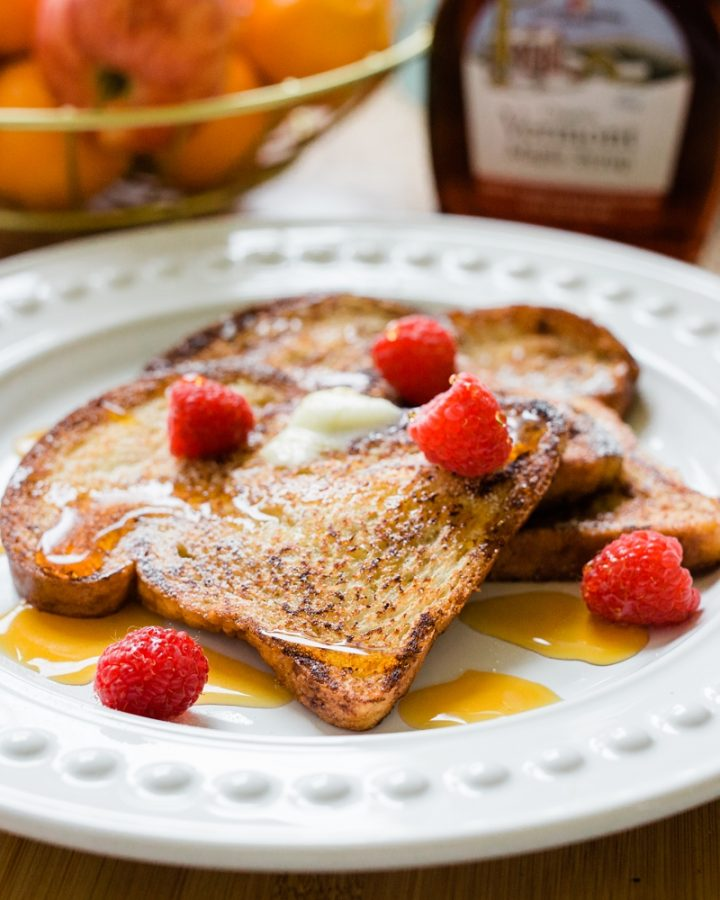 Easy French Toast Recipe using White Bread