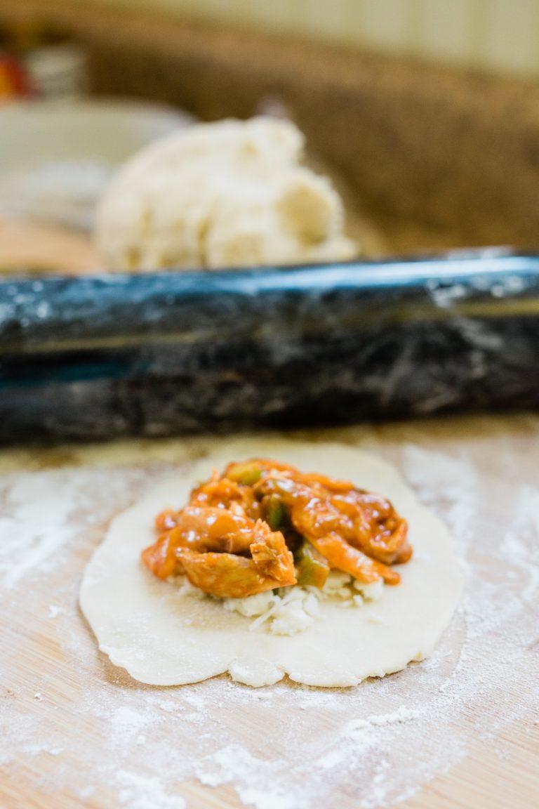Chicken Enchilada Empanadas Recipe