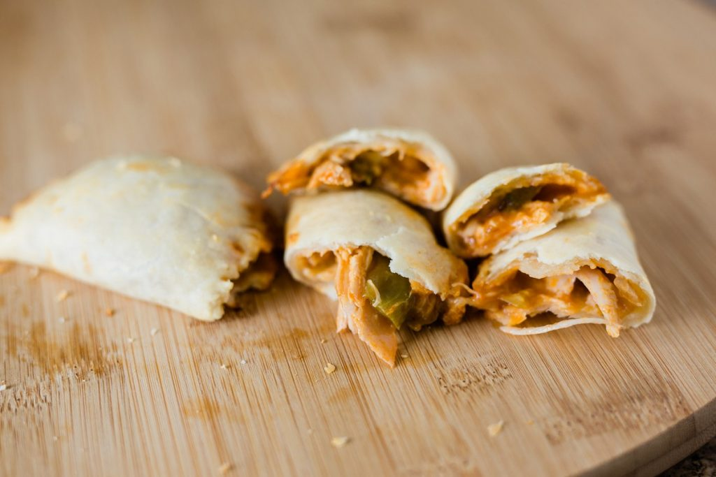 Recipe for Chicken Enchilada Empanadas