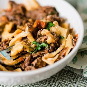 Instant Pot Beef Ragu Recipe with Chuck Roast