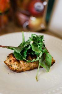 Cod Milanese with Lemony Mixed Salad