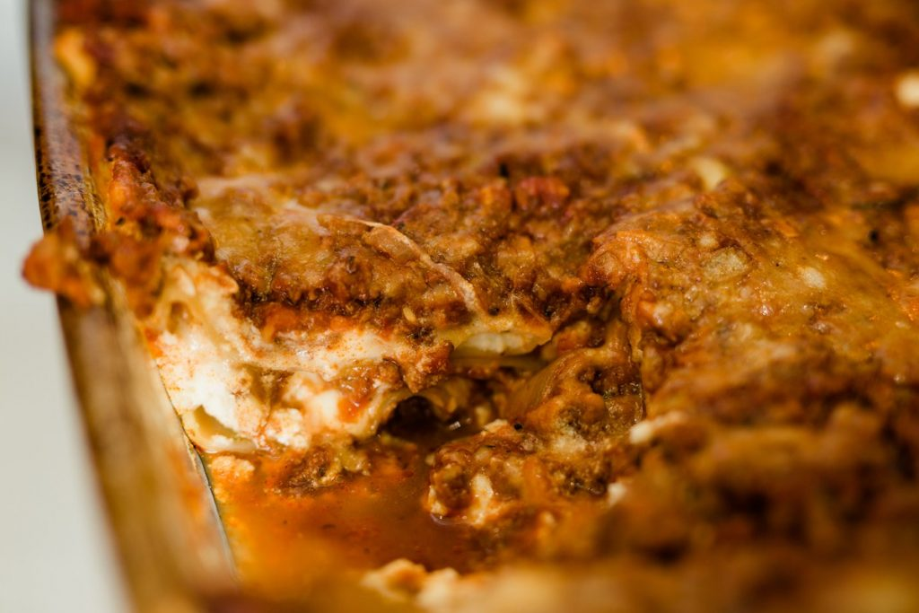 Meaty Cheesy Classic Lasagna Recipe