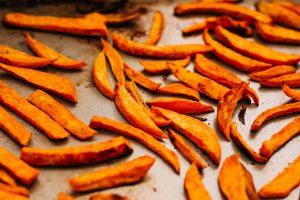 Crispy Baked Sweet Potato Fries