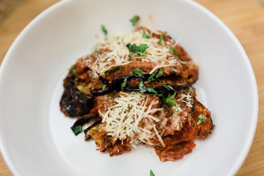 Tomato and Eggplant Gratin Recipe