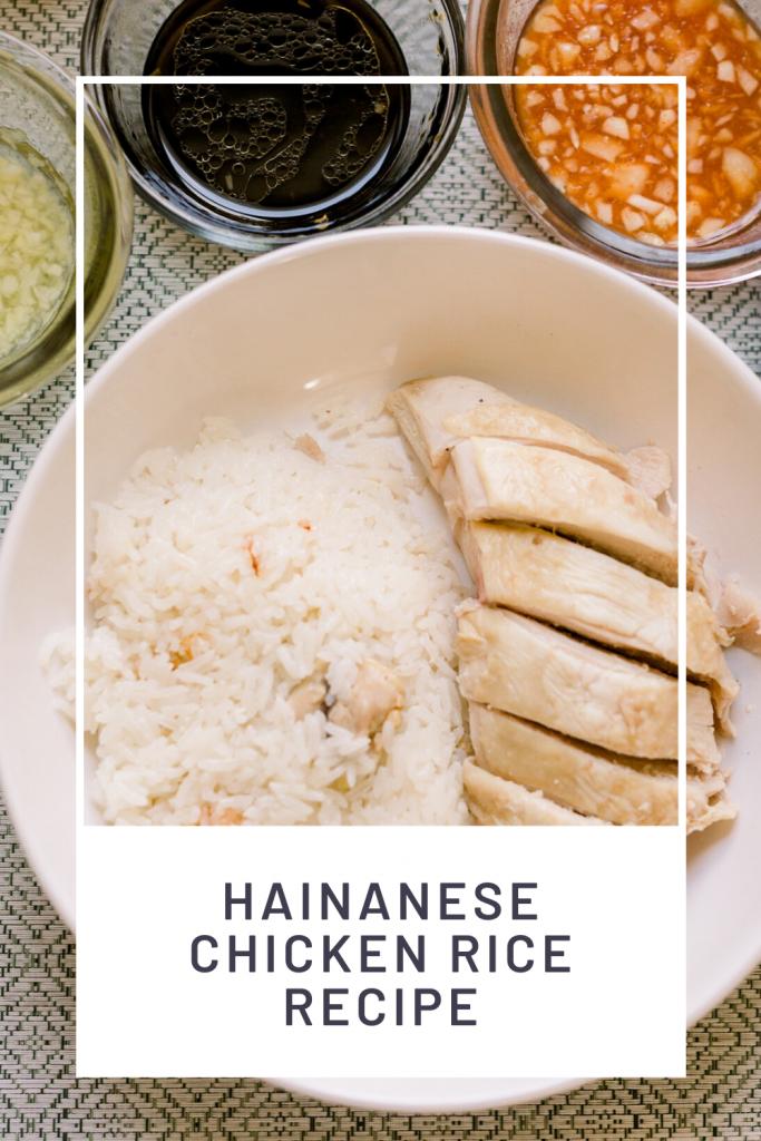 Easy Hainanese Chicken Rice Recipe