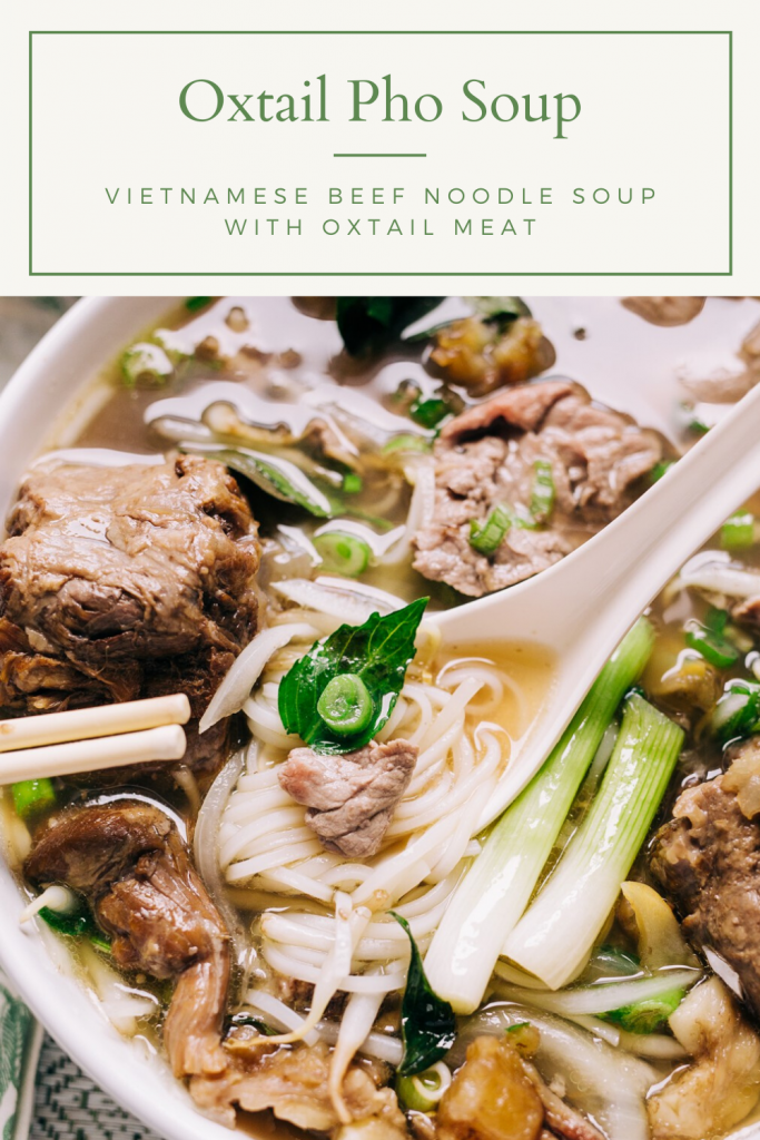 Oxtail Pho Soup Recipe