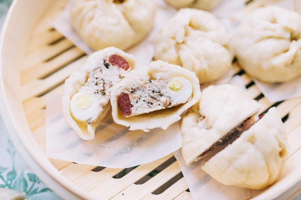 Banh Bao - Vietnamese Steamed Pork Buns