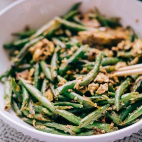 Vietnamese Stir-Fried Green Beans with Eggs