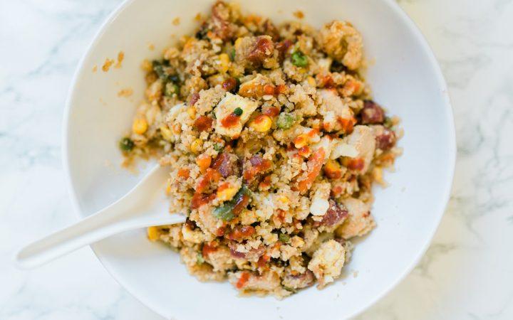 Cauliflower Chicken Fried Rice