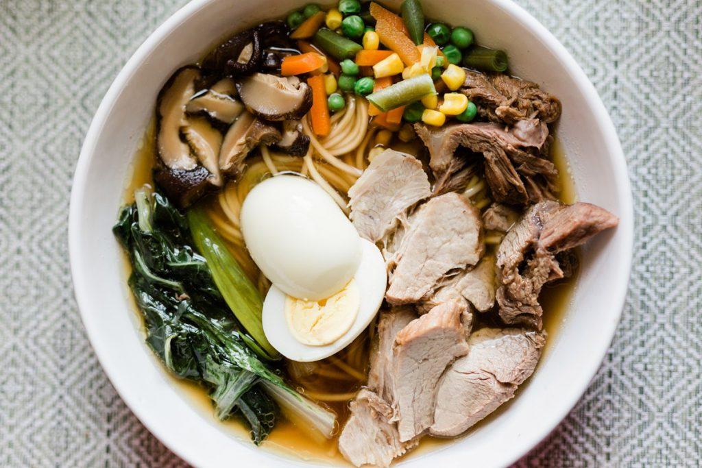 Homemade Shoyu Ramen Noodle Soup Recipe