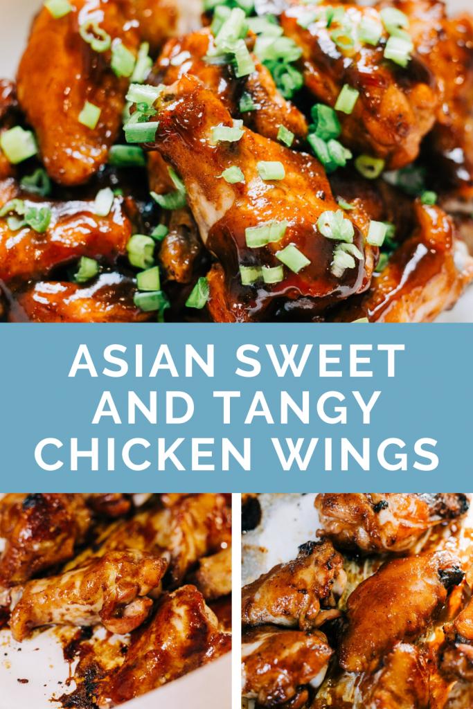 Asian Sticky Chicken Wings Recipe