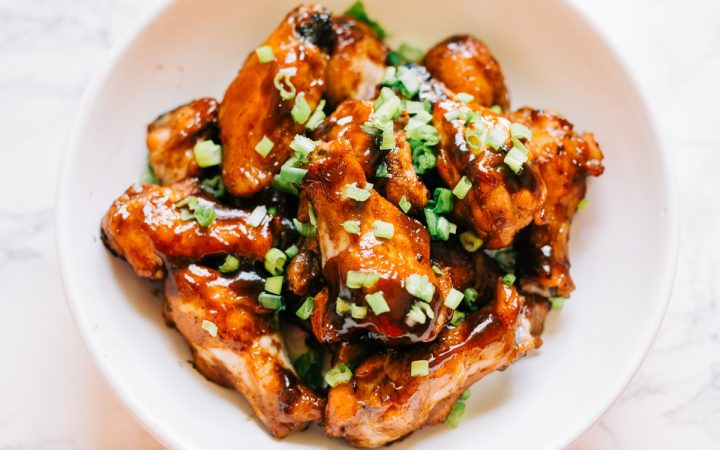 Asian Sticky Chicken Wings Recipe