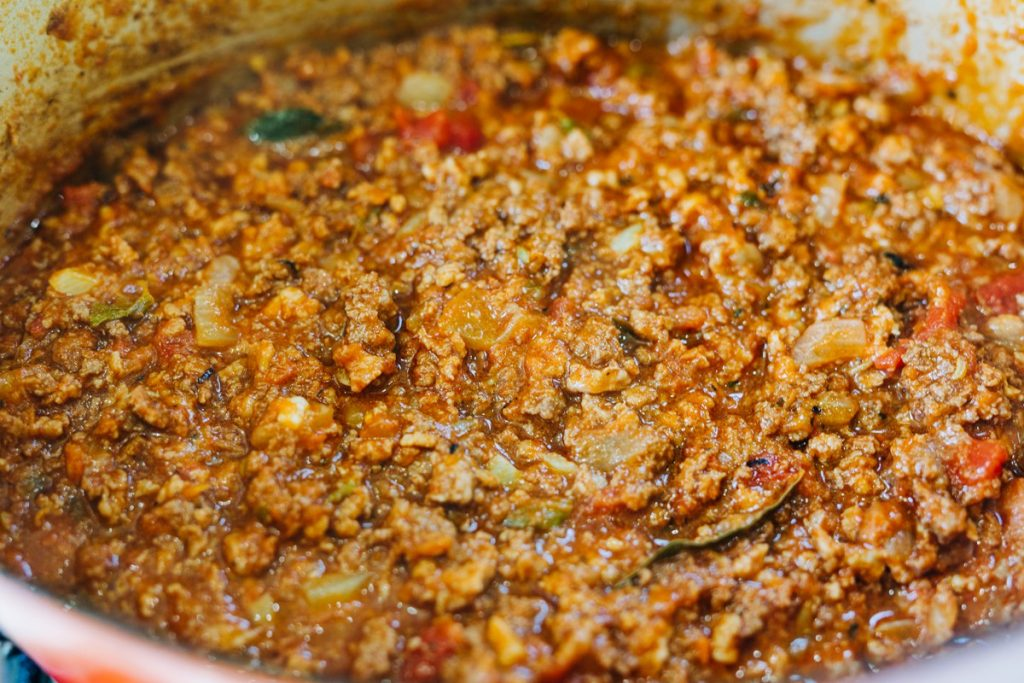 Homemade Bolognese Sauce Recipe using Store-Bought Pasta Sauce