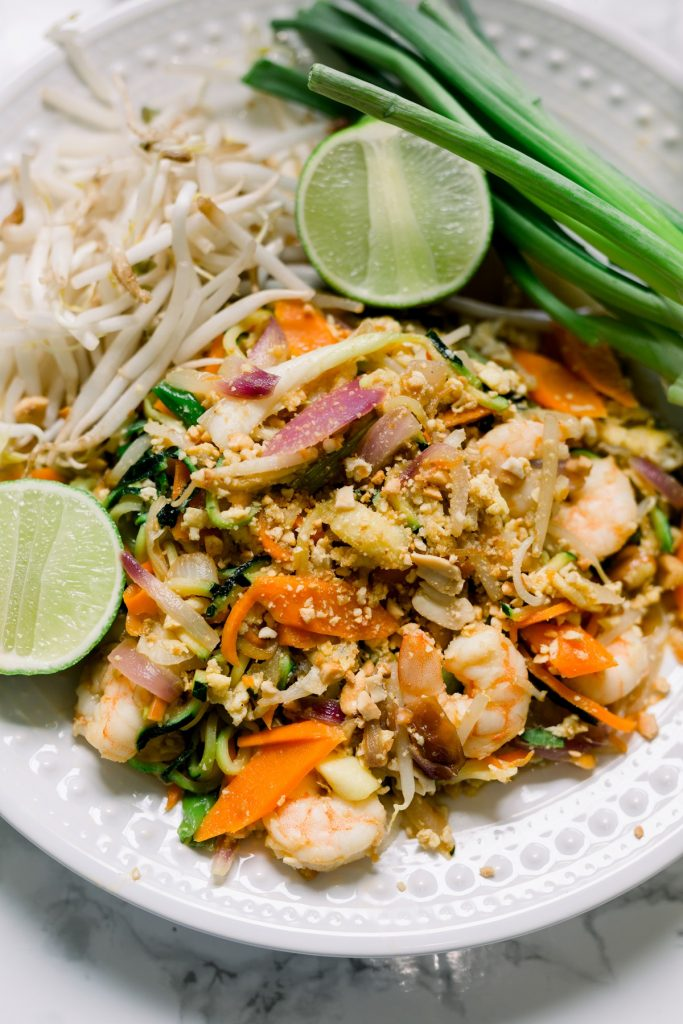 Paleo Pad Thai Recipe with Zoodles