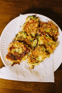 Toddler Lunch Idea - Vegetable Fritters Recipe