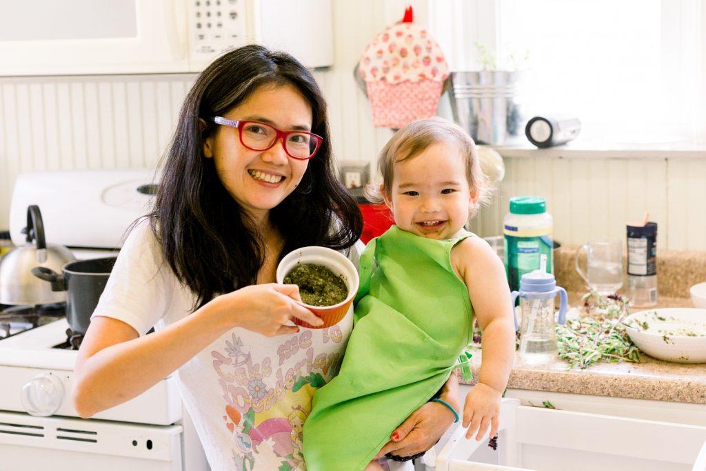 Easy Pesto Recipe using Thai Basil and Peanuts. Thai Basil Pesto Recipe